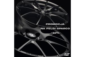 Promocja Sparco Wheels